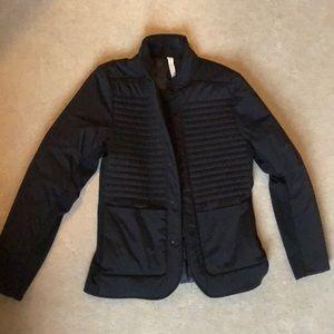 Daniel Hechter Jackets & Coats | Vtg Black M 38 Zipper Silk